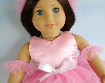 Ballerina Doll Clothing Sewing Pattern for 18 Inch Dolls - PDF ePattern