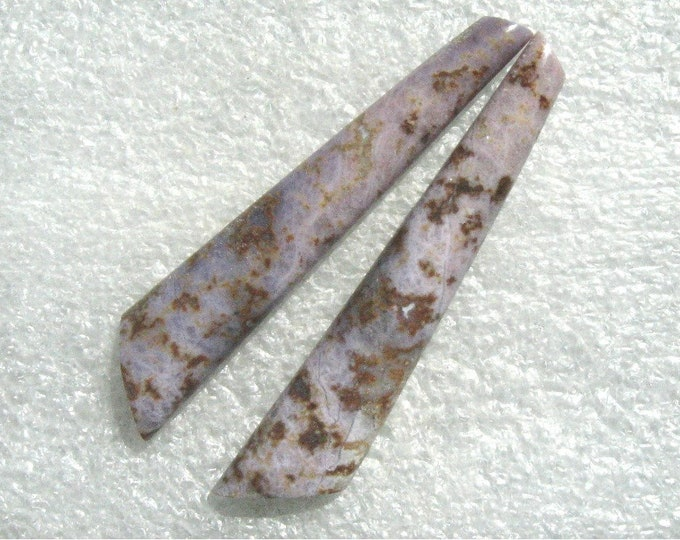 Burro Creek Jasper Extra Long Earring Cabs
