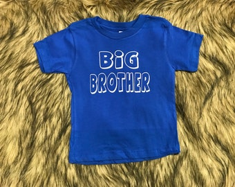 Baby Clothes - Big Brother Shirt - Kids Clothes - Cute Kids Clothes - Toddler Shirt - Cute Toddler Shirt