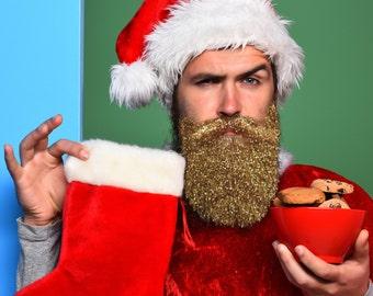 Glitter Beard Kit Double Use Beard Glitter