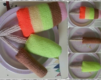 Knitted Lollies