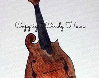 Digital art, mandolin, Zentangle art, musical, instruments, acoustic instrument, mandolin art, digital