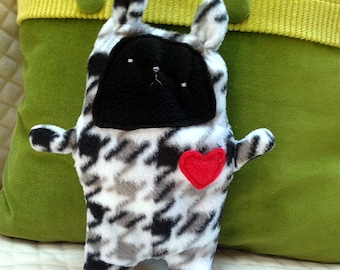 Pepper ~ The Bunny Bummlie ~ Stuffing Free Dog Toy ~ Ready To Ship Today