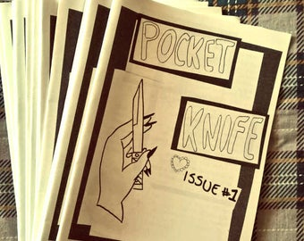 Pocket Knife zine ISSUE #1