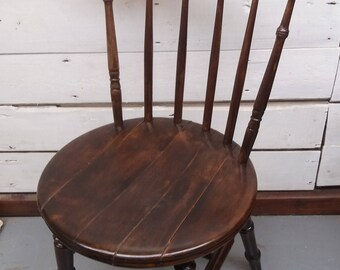 Solid Wooden Farmhouse Chair