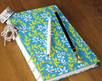 Coptic Stitch Dot Grid Notebook, Journal