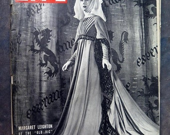 BTS Life Magazine June 17, 1946 Margaret Leighton of the Old Vic