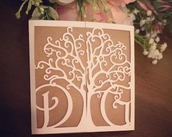 Whimsical Woodland Wedding Invitations