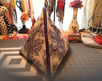 Large Triangle Project Bag