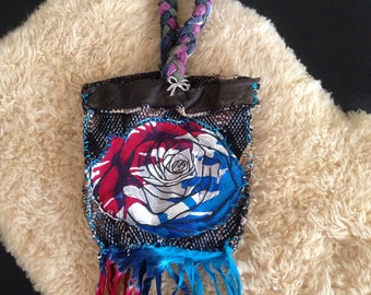 HANDMADE GRATEFUL DEAD inspired BAg