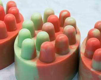 Massage Soap - Citrus Soap - Citrus Hand Soap - Citrus Body Soap - Skincare - Spa Gift - Artisan Soap – Citrus Scented Soap