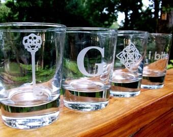 Passe-partout en verre (1) - à l'ancienne