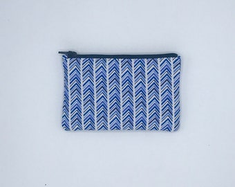"""Zipper Pouch 5.5"""" x 3.25"""", Coin Purse, small gift for her, purse accessory, accessory Pouch, storage pouch"""