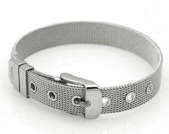 Stainless steel - mesh belt bracelet mesh belt bracelet.