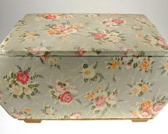 Nähkasten sewing box sewing box roses