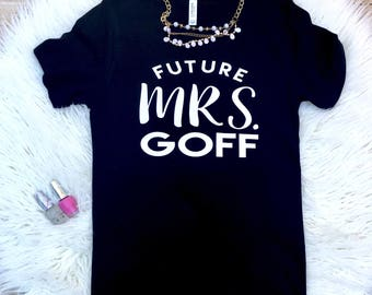 Future Mrs, Bride T-Shirt, Bachelorette Party Shirt,  Bridal Shower Shirt, Bridal Shirt, Bride Shirt, Wedding Tee, Wifey shirt, Custom Shirt