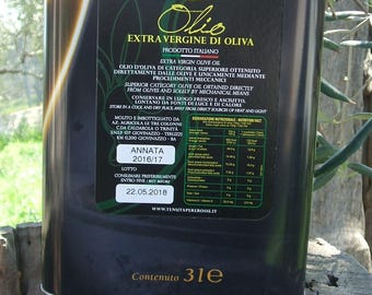 3 litres extra virgin olive oil (LT)-Extra virgin olive oil 3 lt