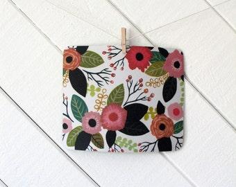 mousepad / Mouse Pad / Mat - Gouache Flowers
