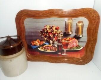 Coca Cola Tray,Vintage Serving Trays, Coke Trays, Coke Advertising, 1960s Kitchenware