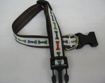 Bow Tie Dog Collar - MULTIPLE SIZES AVAILABLE