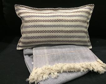 Khadi cotton Cushion cover