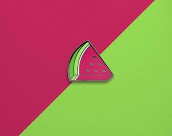 Watermelon Slice Hard Enamel Pin