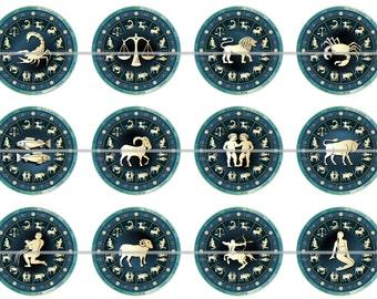 Zodiac Magnets Pins Party Favors Fridge Magnets