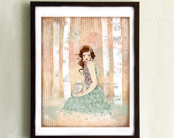 Limited Edition Print - Mademoiselle Snow 7/10