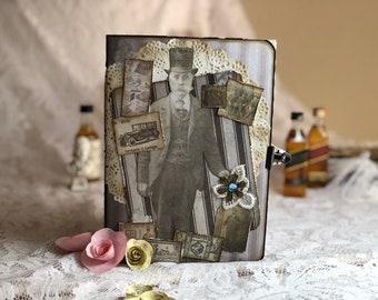 Vintage Junk Journal-Tim Holtz-French industrial.
