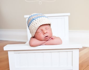 Baby Boy Hat 30 Colors 0 to 3 Month Baby Boy Clothes Baby Boy Gift Baby Boy Cap Baby Boy Hospital Hat Crochet Baby Hat Photo Prop Baby Gift