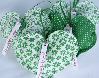 St. Patrick's Day Thank You Gift Appreciation Gift Grateful Hearts Gift Package Greens