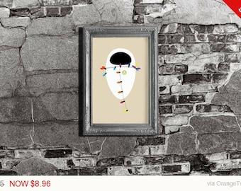 Disney Pixar Wall-E EVE- Wall-E Pixar Inspired - Movie Art Poster