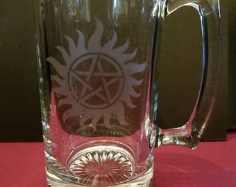Supernatural - Anti - Possession Symbol Beer Mug