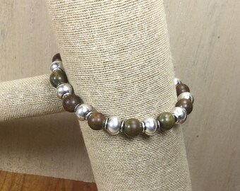 Sandalwood Stretch Bracelet | Stacking Bracelet | Boho Bracelet | Healing Jewelry