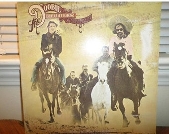Vintage 1975 Vinyl LP Record Stampede The Doobie Brothers Excellent Condition 12967