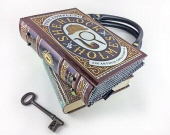 "Sherlock Holmes Handbag, Sir Arthur Conan Doyle, Detective novel, ""Excellent!"" I cried. ""Elementary,"" said he."""