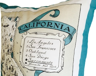 California Pillow Cover With Insert