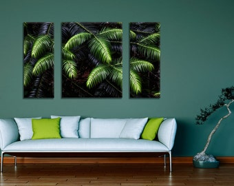 Green Tree Photography in Three Separate Canvas Gallery Wraps