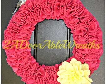 Springtime Wreath - Ready to ship