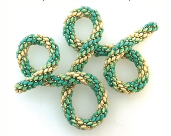 SuperDuo Duet Ombre Rope Tutorial
