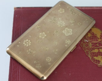 Mid Century Wadsworth Cigarette Case made in the USA