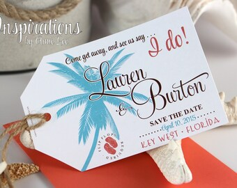 Save the Dates,Luggage Tags, Luggage Tag Save The Date
