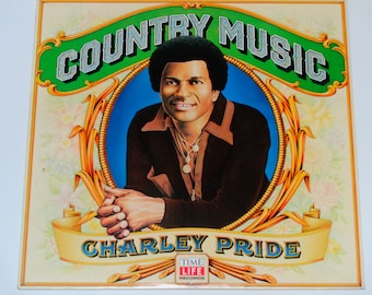 """Charley Pride - Country Music - """"Hope You're Feelin' Me"""" - Time Life Records 1981 - Vintage Vinyl LP Record Album"""