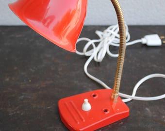 Metal vintage desk lamp