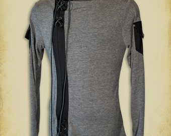 Mercenary medieval shirt clothing for men LARP costume and cosplay
