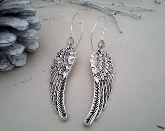 Fancy Angel Wings earrings