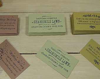 Quality Recycled Cardstock Business Card Blanks Using Natural Raw Material By-Products