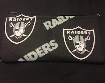 Raiders Pencil Case / Zipper Pouch