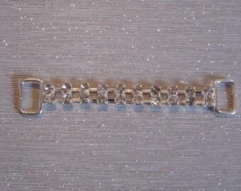 Morsetti metal buckle and rhinestone SKU: 7009