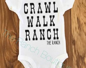 Crawl Walk Ranch baby and toddler